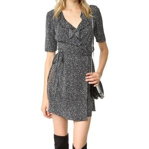 NWT Diane von Furstenberg DVF Silk Wrap Dress